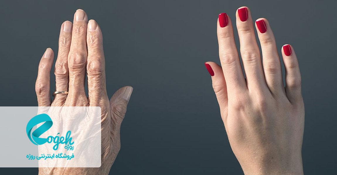 دستان زیبا و جوان