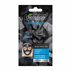 ماسک زغال پاک کننده مناسب پوستهای خشک و حساس بی یلندا