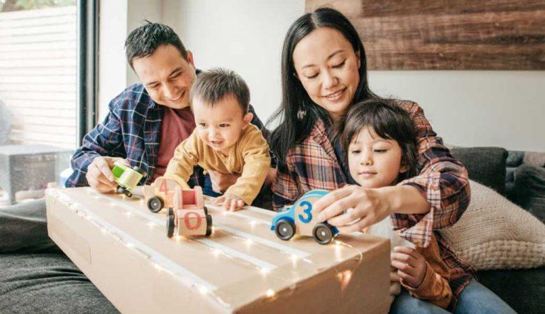 بزرگ کردن فرزند با کمترین هزینه