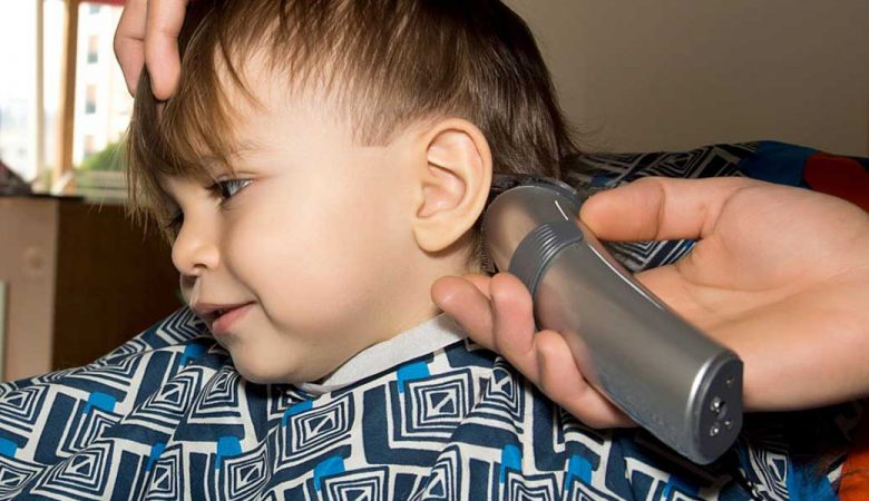 کوتاه کردن مو کودک