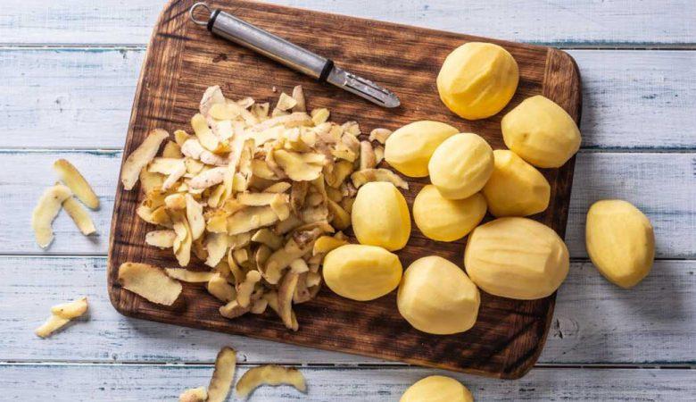 استفاده از پوست سیب زمینی