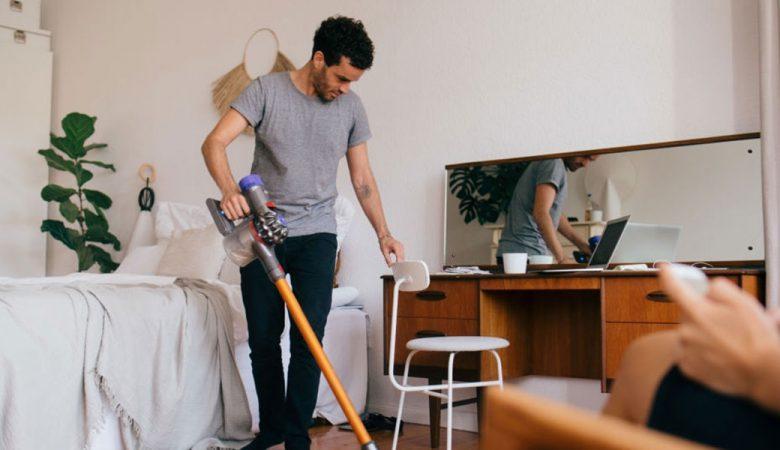 تمیز کردن اتاق در چند دقیقه