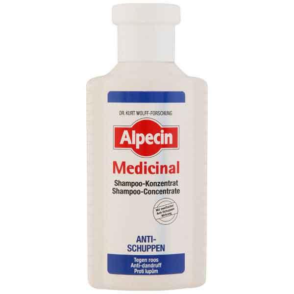 شامپو ضد شوره آلپسین مدل مدیسینال