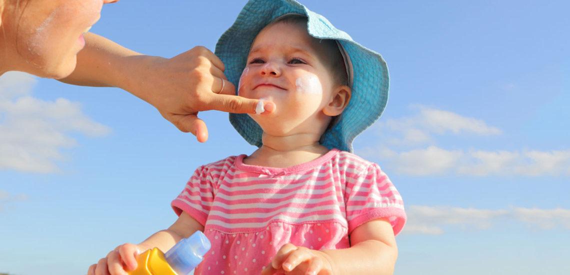 مراقبتهای ویژه پوست کودک
