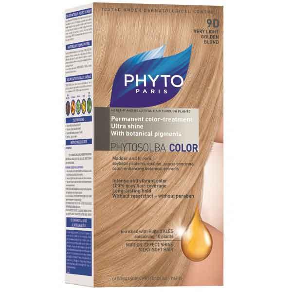 رنگ مو فیتو 9d