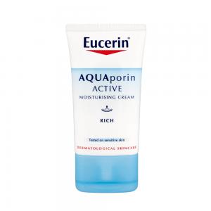 کرم مرطوب کننده روز آکواپورین اکتیو اوسرین (غنی) Eucerin AQUAporin Active Rich