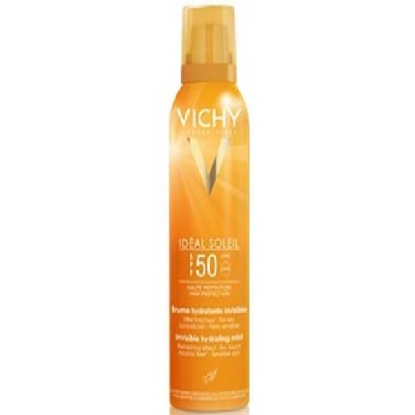 اسپری ضد آفتاب بی رنگ بدن ویشی