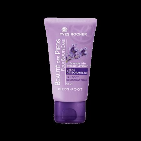 Yves Rocher Beaute Des Pieds Foot Deodorants Cream