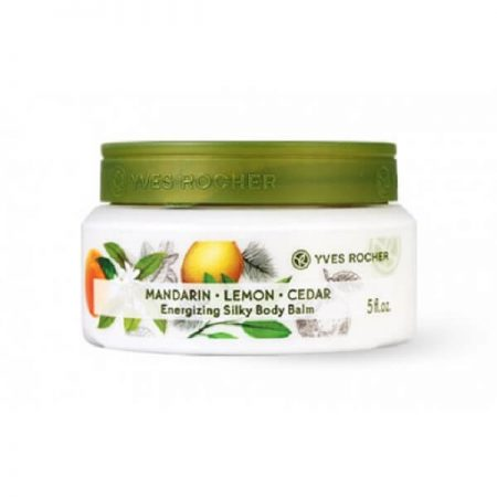 Yves Rocher Mandarin Lemon Cedar Silky Body Balm