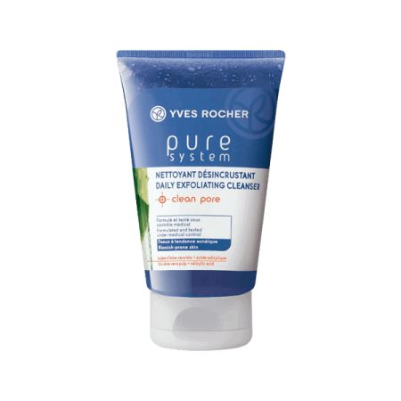 Yves Rocher Pure System Daily Exfoliationg Cleanser